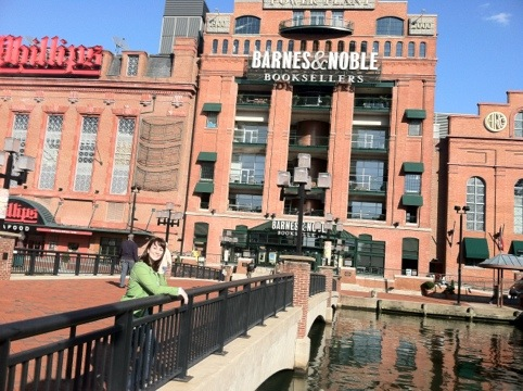 Barnes and Noble, Inner Harbor, Baltimore