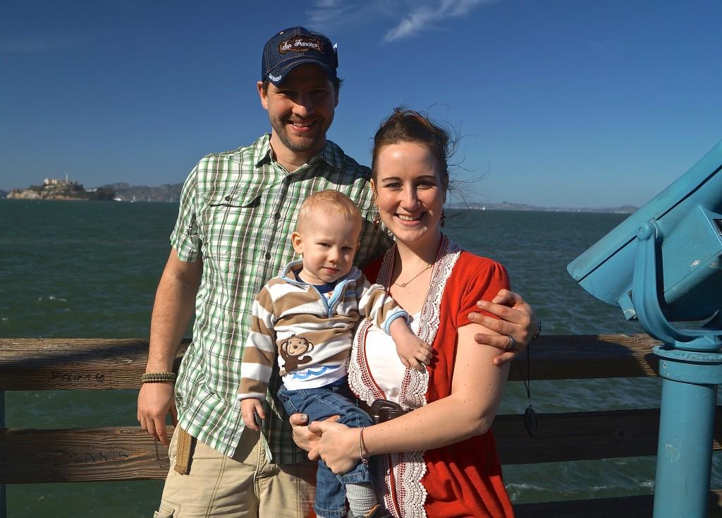 Family at San Francisco Bay
