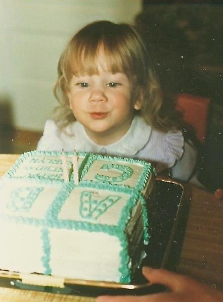 Little Karlyn Birthday Candles